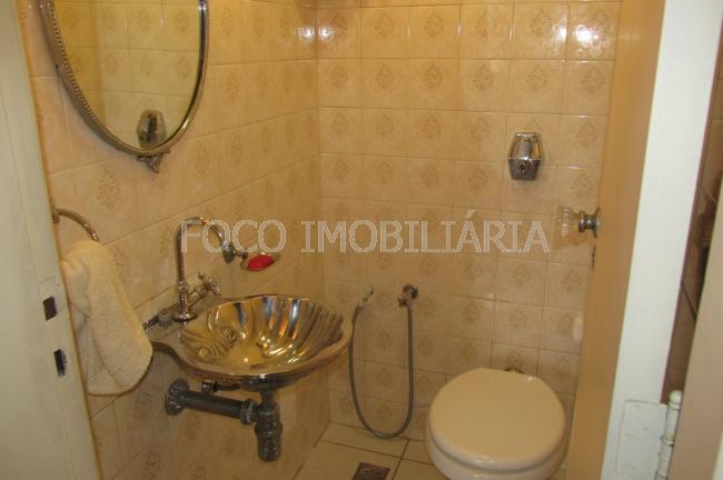 LAVABO - Apartamento à venda Rua Pinheiro Machado,Laranjeiras, Rio de Janeiro - R$ 1.200.000 - FLAP30206 - 4