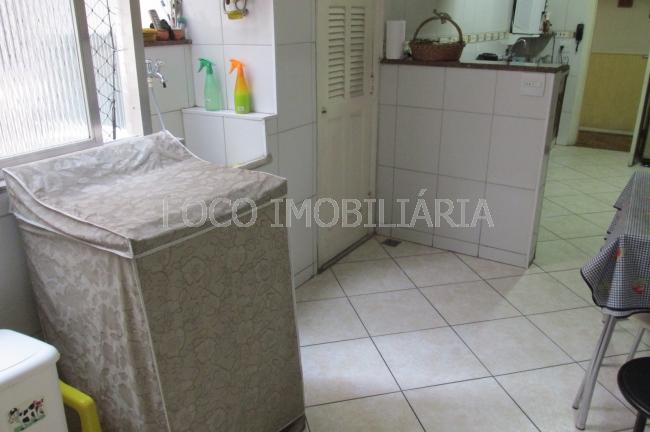 ÁREA DE SERVIÇO - Apartamento à venda Rua Pinheiro Machado,Laranjeiras, Rio de Janeiro - R$ 1.200.000 - FLAP30206 - 7