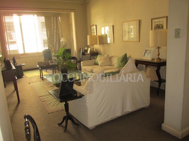 SALA - Apartamento à venda Avenida Nossa Senhora de Copacabana,Copacabana, Rio de Janeiro - R$ 880.000 - FLAP30268 - 1