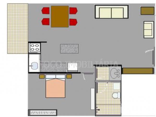 PLANTA - Apartamento à venda Rua Gomes Carneiro,Ipanema, Rio de Janeiro - R$ 920.000 - FLAP10184 - 18