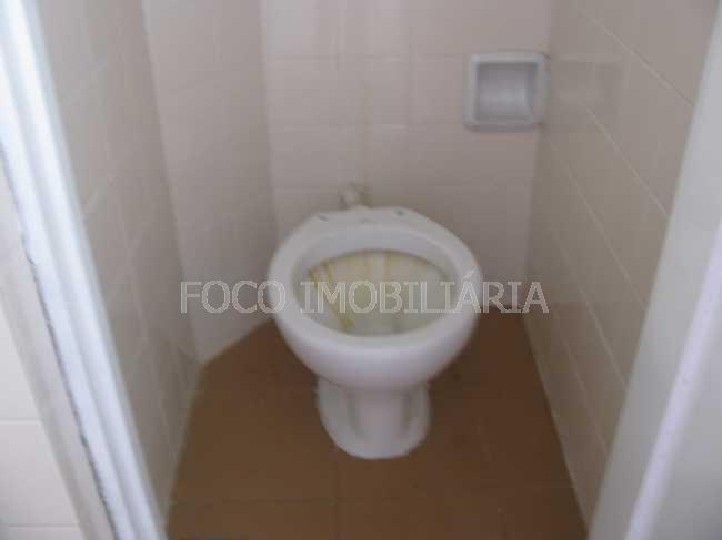 BANHEIRO EMPREGADA - Apartamento à venda Avenida Ataulfo de Paiva,Leblon, Rio de Janeiro - R$ 860.000 - FLAP10222 - 19