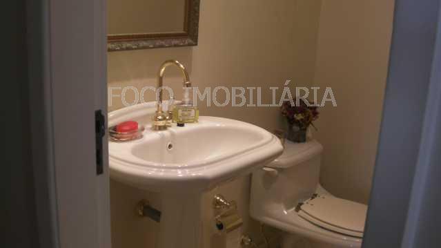 10 - Casa à venda Rua Casuarina,Humaitá, Rio de Janeiro - R$ 4.980.000 - JBCA40003 - 11