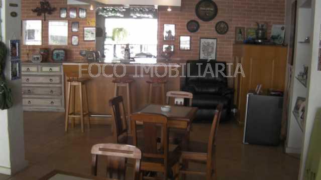 16 - Casa à venda Rua Casuarina,Humaitá, Rio de Janeiro - R$ 4.980.000 - JBCA40003 - 14