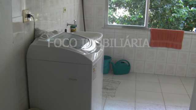 20 - Casa à venda Rua Casuarina,Humaitá, Rio de Janeiro - R$ 4.980.000 - JBCA40003 - 19