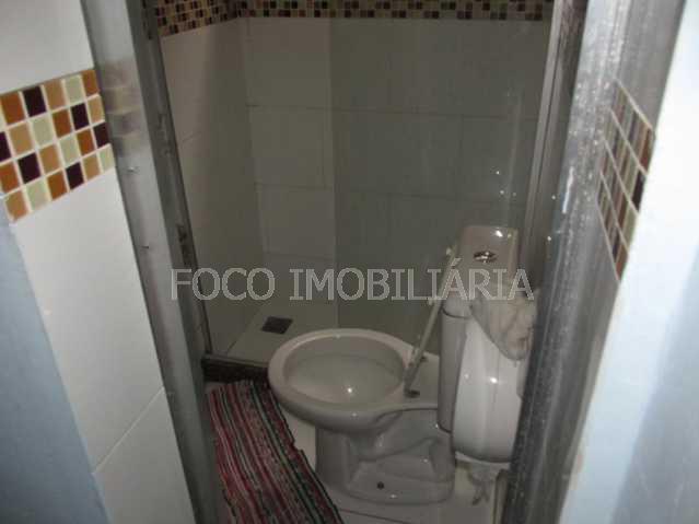 BANHEIRO SOCIAL - Casa à venda Rua Hermenegildo de Barros,Glória, Rio de Janeiro - R$ 1.800.000 - FLCA90002 - 16
