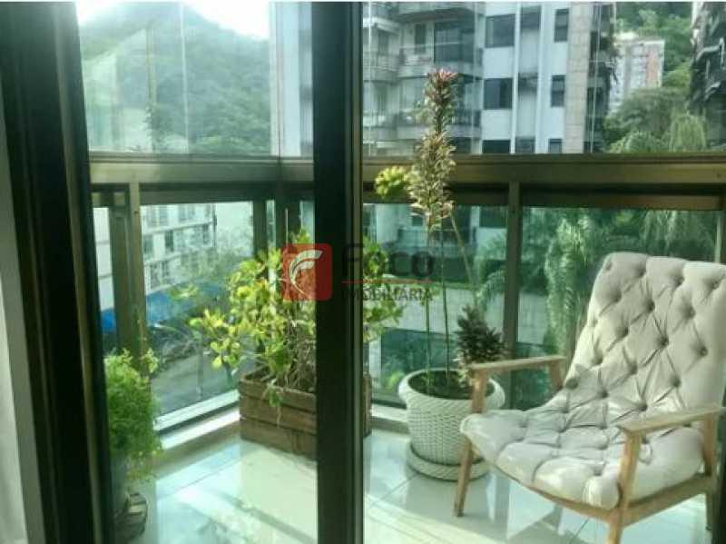 vista varanda - Apartamento À Venda - Gávea - Rio de Janeiro - RJ - JBAP20192 - 9