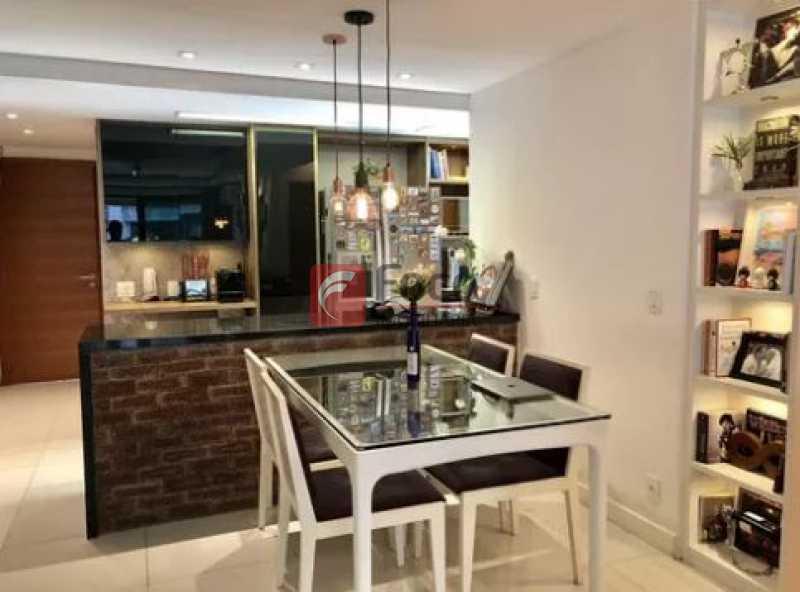 sala de jantar - Apartamento À Venda - Gávea - Rio de Janeiro - RJ - JBAP20192 - 6