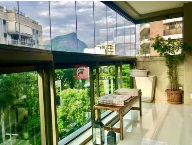 varanda - Apartamento À Venda - Gávea - Rio de Janeiro - RJ - JBAP20192 - 20