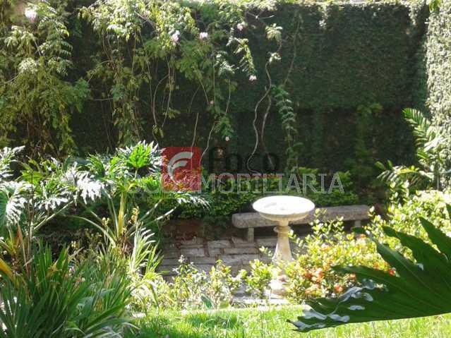 JARDIM - Casa à venda Rua Indiana,Cosme Velho, Rio de Janeiro - R$ 3.200.000 - FLCA40030 - 6