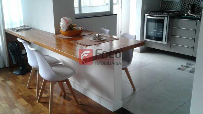 SALA E COZINHA ABERTA - Apartamento à venda Rua Pereira da Silva,Laranjeiras, Rio de Janeiro - R$ 1.200.000 - FA32168 - 7