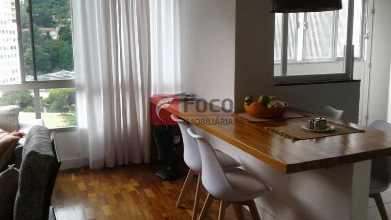 SALA E COZINHA ABERTA - Apartamento à venda Rua Pereira da Silva,Laranjeiras, Rio de Janeiro - R$ 1.200.000 - FA32168 - 8