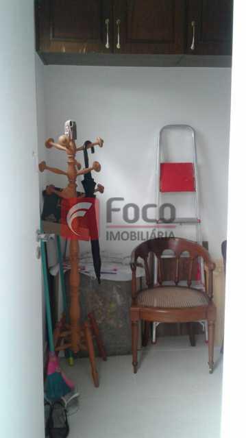 QUARTO DE SERVIÇO - Apartamento à venda Rua Pereira da Silva,Laranjeiras, Rio de Janeiro - R$ 1.200.000 - FA32168 - 13