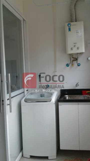 ÁREA DE SERVIÇO - Apartamento à venda Rua Pereira da Silva,Laranjeiras, Rio de Janeiro - R$ 1.200.000 - FA32168 - 15