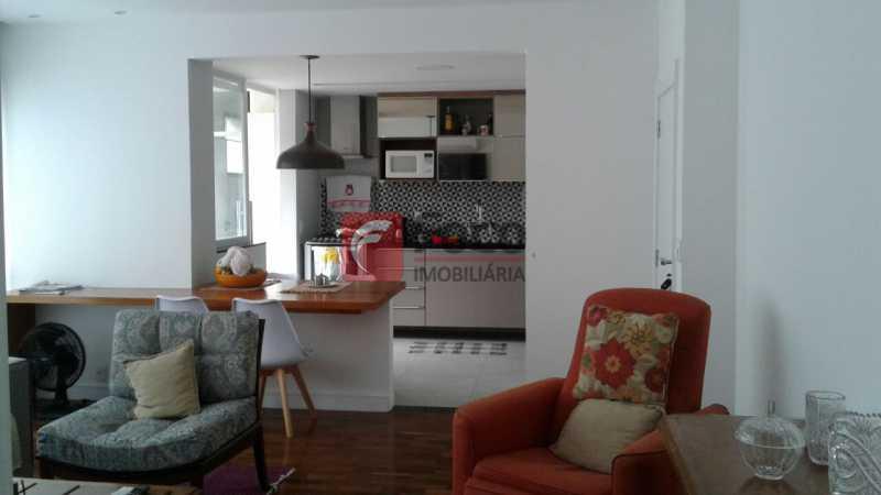 SALA E COZINHA - Apartamento à venda Rua Pereira da Silva,Laranjeiras, Rio de Janeiro - R$ 1.200.000 - FA32168 - 9