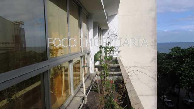 VARANDA - Apartamento à venda Rua General Artigas,Leblon, Rio de Janeiro - R$ 9.500.000 - FLAP40131 - 9