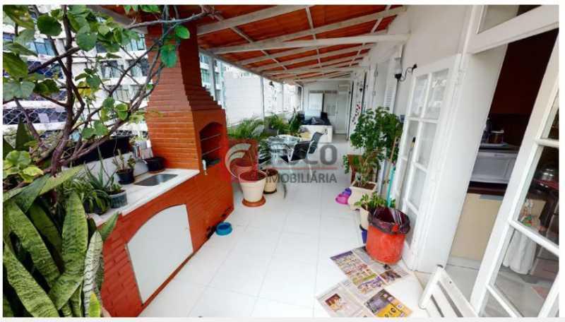 Terraço 1 - Cobertura à venda Rua Dona Mariana,Botafogo, Rio de Janeiro - R$ 2.300.000 - FLCO30053 - 3
