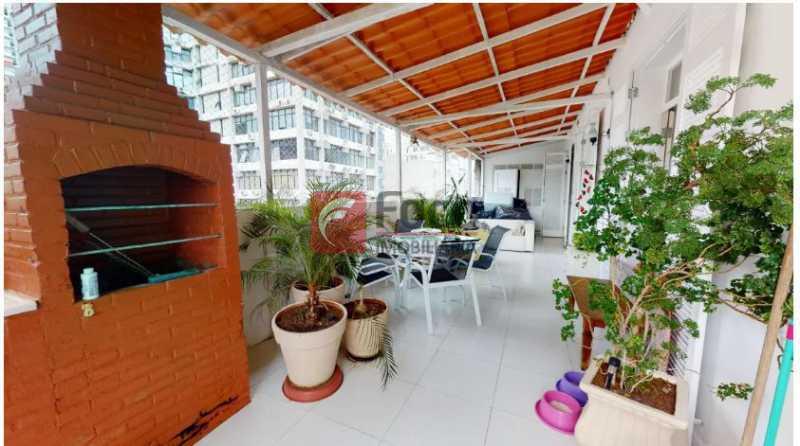 Terraço 1.1 - Cobertura à venda Rua Dona Mariana,Botafogo, Rio de Janeiro - R$ 2.300.000 - FLCO30053 - 1