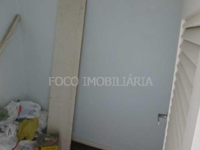 QUARTO EMPREGADA - Apartamento à venda Praia de Botafogo,Botafogo, Rio de Janeiro - R$ 900.000 - FLAP20649 - 20