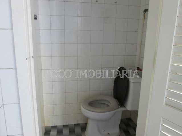 BANHEIRO EMPREGADA - Apartamento à venda Praia de Botafogo,Botafogo, Rio de Janeiro - R$ 900.000 - FLAP20649 - 21