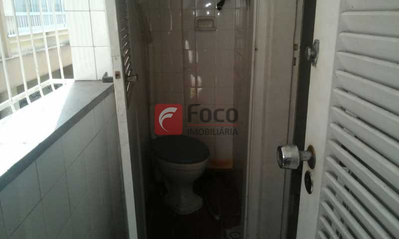 banheiro de serviço - Apartamento à venda Rua João Líra,Leblon, Rio de Janeiro - R$ 1.500.000 - JBAP20222 - 23