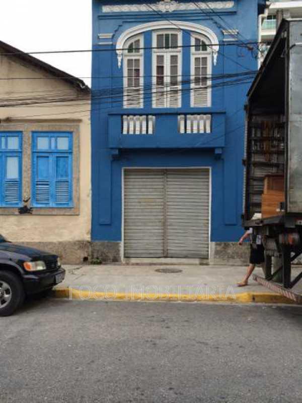 FACHADA DA CASA  - Casa à venda Rua Fernandes Guimarães,Botafogo, Rio de Janeiro - R$ 5.000.000 - FLCA20019 - 1