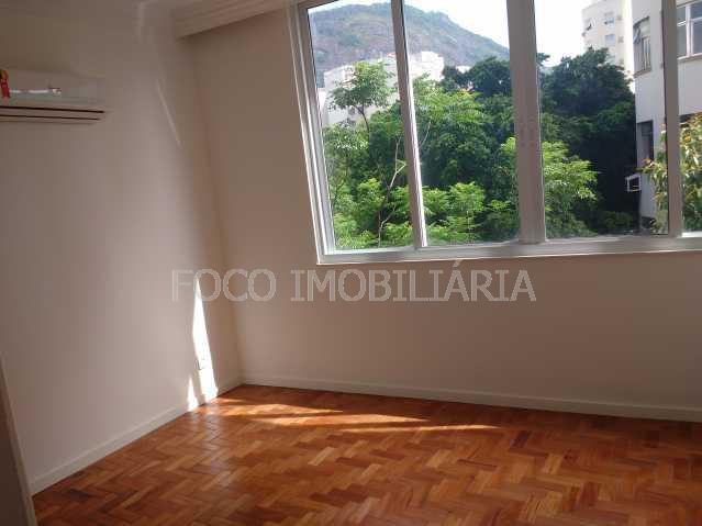 QUARTO 1 - Apartamento à venda Rua Desembargador Burle,Humaitá, Rio de Janeiro - R$ 750.000 - FLAP20957 - 6