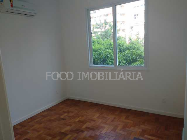 QUARTO 2 - Apartamento à venda Rua Desembargador Burle,Humaitá, Rio de Janeiro - R$ 750.000 - FLAP20957 - 3