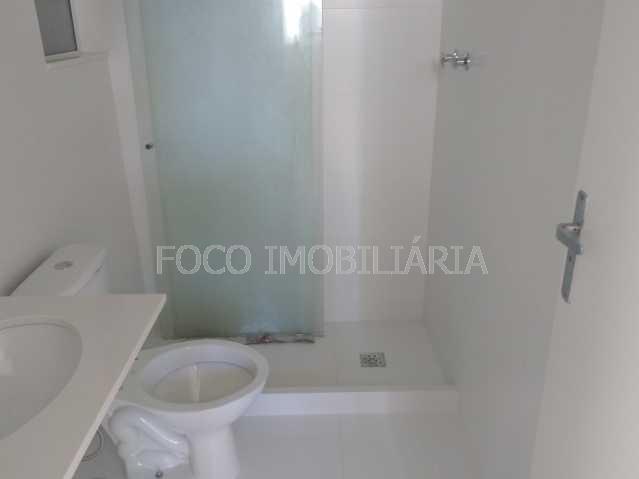 BANHEIRO SOCIAL - Apartamento à venda Rua Desembargador Burle,Humaitá, Rio de Janeiro - R$ 750.000 - FLAP20957 - 7