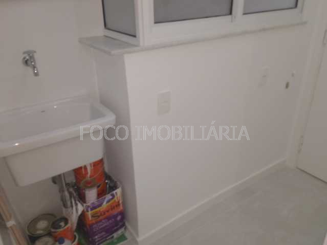 ÁREA SERVIÇO - Apartamento à venda Rua Desembargador Burle,Humaitá, Rio de Janeiro - R$ 750.000 - FLAP20957 - 20