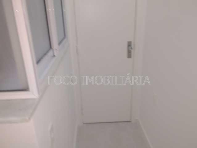 ÁREA SERVIÇO - Apartamento à venda Rua Desembargador Burle,Humaitá, Rio de Janeiro - R$ 750.000 - FLAP20957 - 18