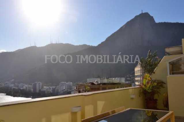 vista 2 - Cobertura à venda Rua Sacopa,Lagoa, Rio de Janeiro - R$ 2.780.000 - JBCO40026 - 6