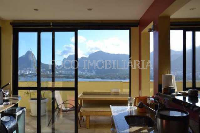 cozinha de apoio ang 1 - Cobertura à venda Rua Sacopa,Lagoa, Rio de Janeiro - R$ 2.780.000 - JBCO40026 - 10