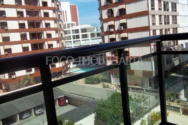 VISTA FUNDOS - Flat 1 quarto à venda Ipanema, Rio de Janeiro - R$ 1.200.000 - JBFL10003 - 6