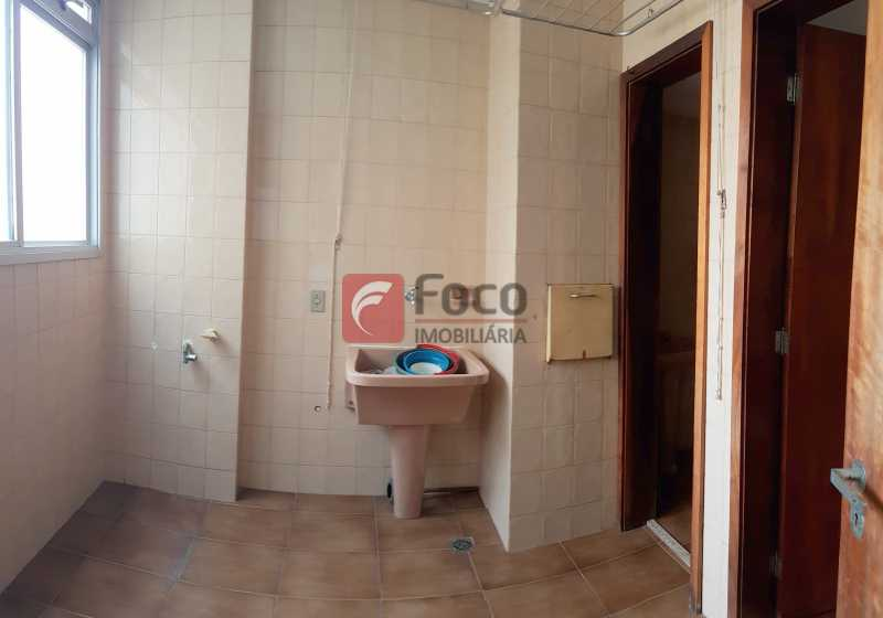 ÁREA SERVIÇO - Apartamento à venda Rua Senador Euzebio,Flamengo, Rio de Janeiro - R$ 1.800.000 - FLAP22432 - 13