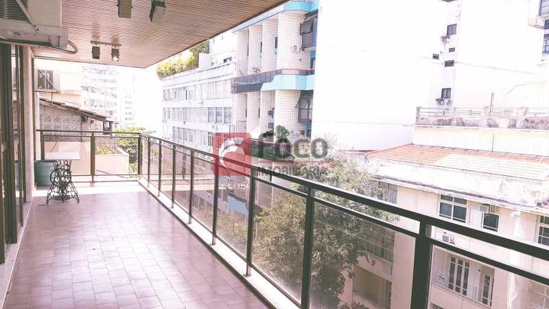 VARANDÃO - Apartamento à venda Rua Senador Euzebio,Flamengo, Rio de Janeiro - R$ 1.800.000 - FLAP22432 - 1