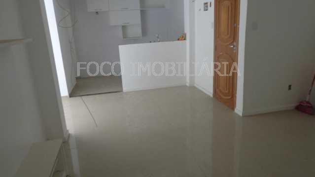 SALA - Apartamento à venda Rua Cardeal Dom Sebastião Leme,Santa Teresa, Rio de Janeiro - R$ 410.000 - FLAP21058 - 1