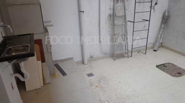 ÁREA EXTERNA QUINTAL - Apartamento à venda Rua Cardeal Dom Sebastião Leme,Santa Teresa, Rio de Janeiro - R$ 410.000 - FLAP21058 - 19