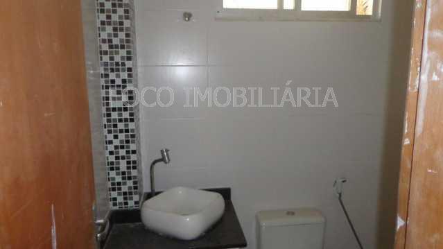BANHEIRO SOCIAL - Apartamento à venda Rua Cardeal Dom Sebastião Leme,Santa Teresa, Rio de Janeiro - R$ 410.000 - FLAP21058 - 14