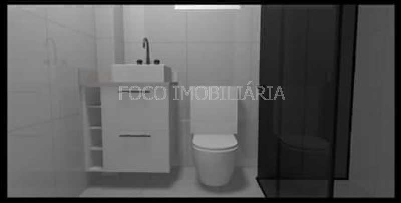 BANHEIRO SOCIAL - Apartamento à venda Rua Cardeal Dom Sebastião Leme,Santa Teresa, Rio de Janeiro - R$ 410.000 - FLAP21058 - 22