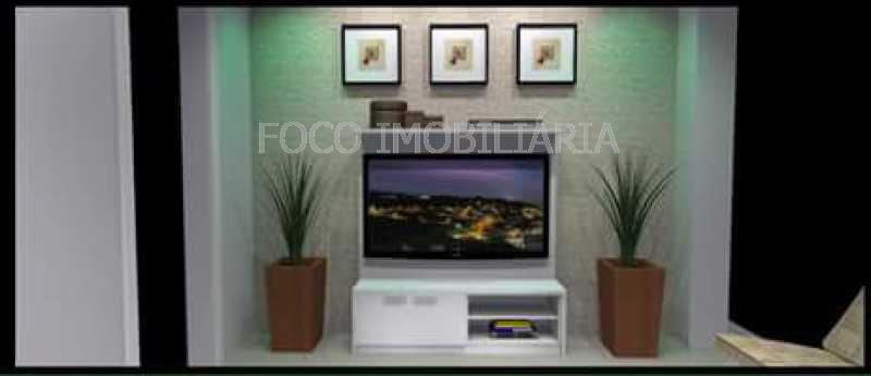 SALA - Apartamento à venda Rua Cardeal Dom Sebastião Leme,Santa Teresa, Rio de Janeiro - R$ 410.000 - FLAP21058 - 24