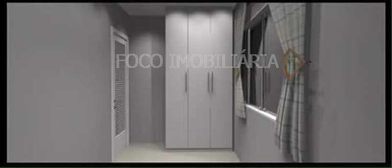 QUARTO - Apartamento à venda Rua Cardeal Dom Sebastião Leme,Santa Teresa, Rio de Janeiro - R$ 410.000 - FLAP21058 - 26