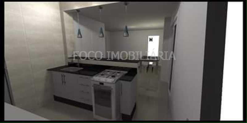 COZINHA - Apartamento à venda Rua Cardeal Dom Sebastião Leme,Santa Teresa, Rio de Janeiro - R$ 410.000 - FLAP21058 - 28