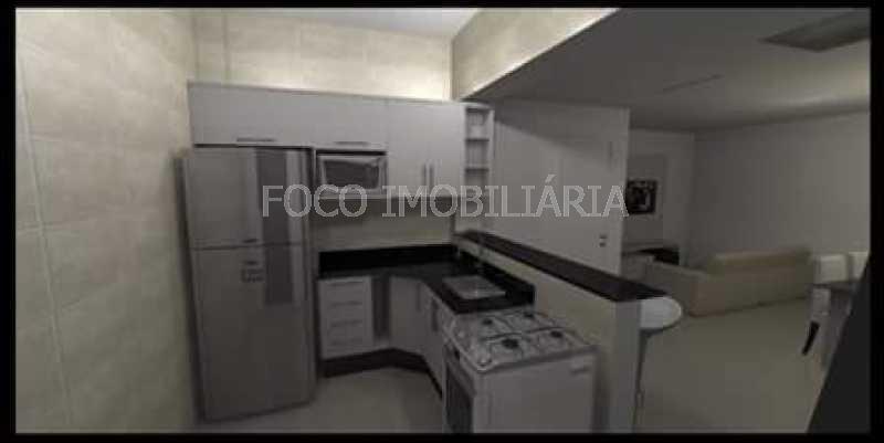 COZINHA - Apartamento à venda Rua Cardeal Dom Sebastião Leme,Santa Teresa, Rio de Janeiro - R$ 410.000 - FLAP21058 - 29