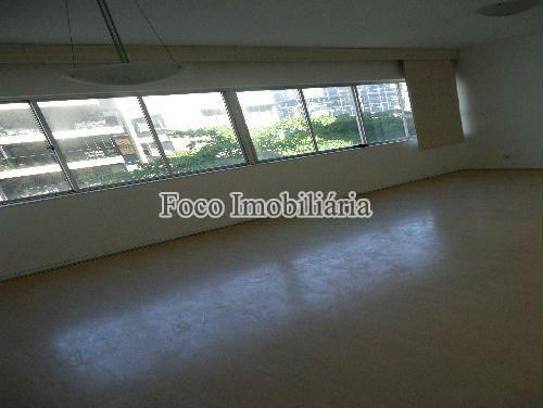 SALA - Apartamento à venda Rua João Líra,Leblon, Rio de Janeiro - R$ 3.300.000 - FA33112 - 7