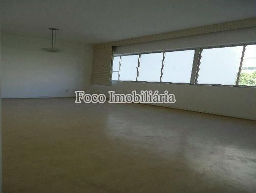 SALA - Apartamento à venda Rua João Líra,Leblon, Rio de Janeiro - R$ 3.300.000 - FA33112 - 1