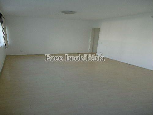 SALA - Apartamento à venda Rua João Líra,Leblon, Rio de Janeiro - R$ 3.300.000 - FA33112 - 8