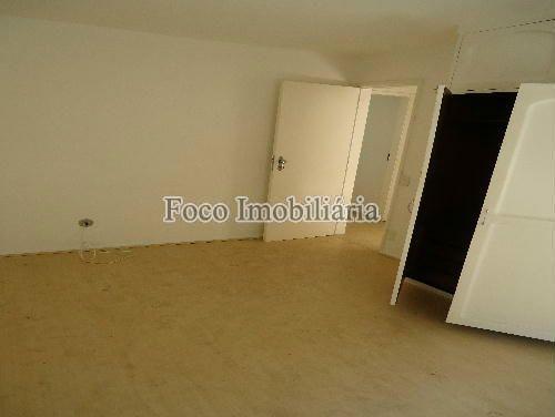 QUARTO - Apartamento à venda Rua João Líra,Leblon, Rio de Janeiro - R$ 3.300.000 - FA33112 - 15