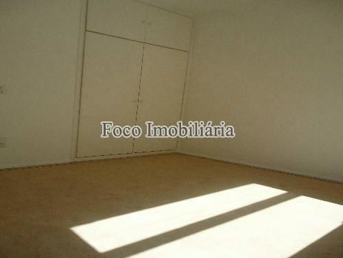 QUARTO - Apartamento à venda Rua João Líra,Leblon, Rio de Janeiro - R$ 3.300.000 - FA33112 - 16