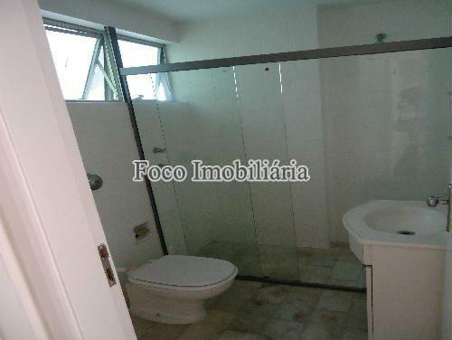 BANHEIRO - Apartamento à venda Rua João Líra,Leblon, Rio de Janeiro - R$ 3.300.000 - FA33112 - 5