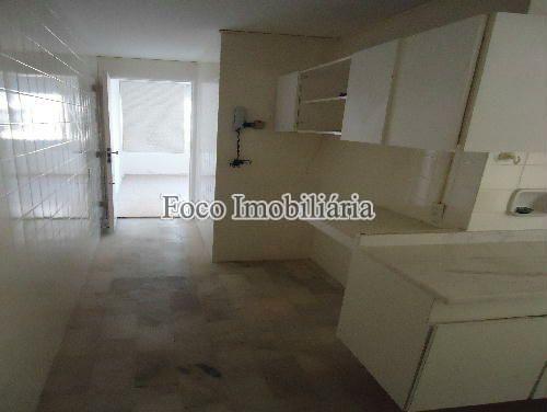 COZINHA - Apartamento à venda Rua João Líra,Leblon, Rio de Janeiro - R$ 3.300.000 - FA33112 - 22